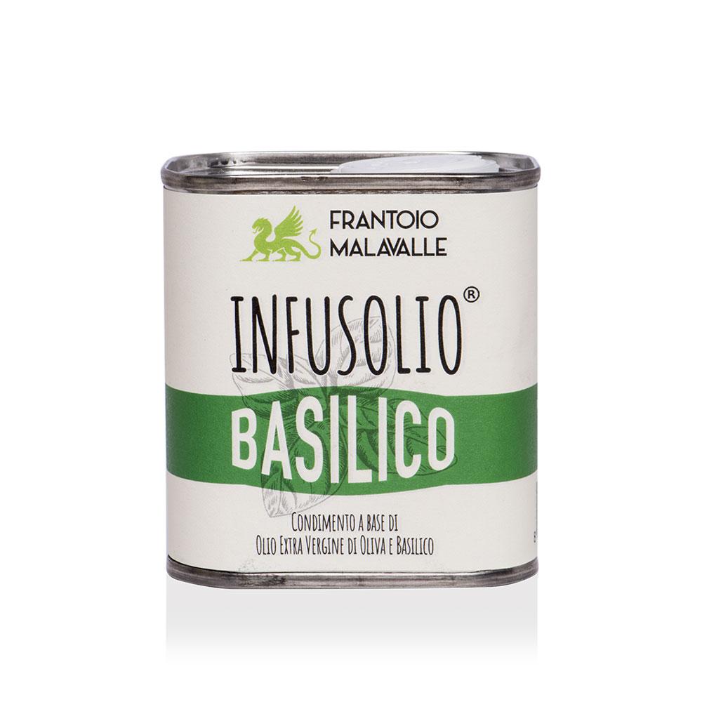 Infusolio Basilico | Frantoio Malavalle | Olio creato con passione